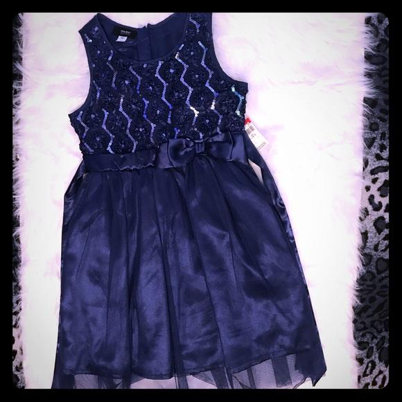 903a5eddd5d8 Holiday Editions Dresses | Beautiful Blue Sequin Dress Sz 1012 ...